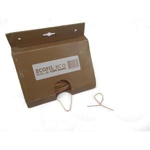 Sârmă pretăiată cu înveliș de hârtie la 15 cm în cutie