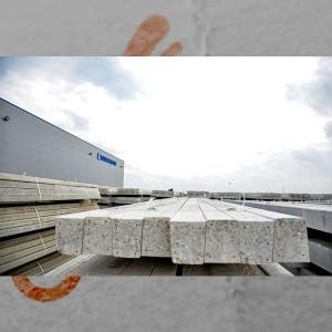 Stâlpi  beton de capăt