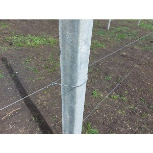 Clema de prindere sarma pentru stalpi beton L = 285 mm